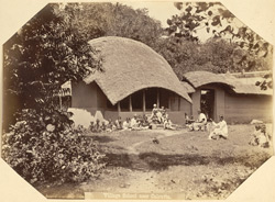 Village school near Calcutta.
